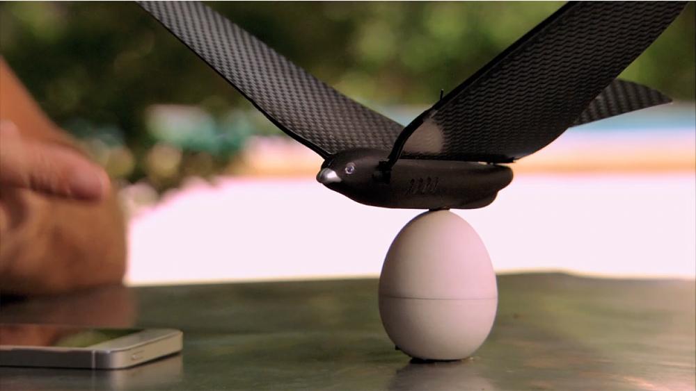 仿生鸟-Bionic Bird:可以用手机APP控制的无人机